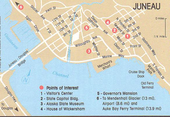 Juneau  Hauptstadt Von Alaska